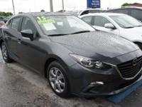 Options:  2015 Mazda Mazda3 I|Gray|What Are You Waiting