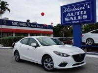 Options:  2015 Mazda Mazda3 I|White|Apr As Low As 2.99