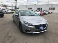 1 Owner and PUSH BUTTON START. Mazda3 i Sport, SKYACTIV