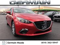 2015 Mazda Mazda3 i Sport Soul Red Metallic FWD 6-Speed