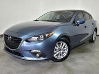 CARFAX One-Owner. Blue 2015 Mazda Mazda3 i Touring FWD