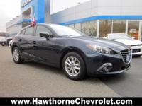 CARFAX One-Owner. Deep Crystal Blue Mica 2015 Mazda