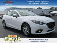 ONE OWNER! This Certified 2015 Mazda3 i in Snowflake