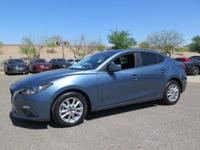 Options:  2015 Mazda Mazda3 I|Blue|New Price!