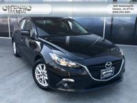 Jet Black 2015 Mazda Mazda3 i Touring FWD 6-Speed
