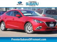 Options:  2015 Mazda Mazda3 I 4D Sedan|6 Speakers|Am/Fm