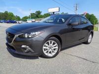 *One Owner*. Mazda3 i Touring, 4D Sedan, Meteor Gray