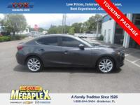 This Certified, ONE OWNER, 2015 Mazda3 s is well