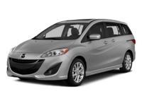 CARFAX 1-Owner. EPA 28 MPG Hwy/21 MPG City! Mazda5