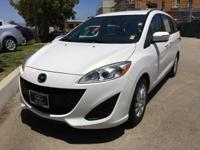Options:  2015 Mazda Mazda5 Sport|White|Don't Bother