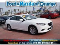 *Low Miles* *This 2015 Mazda MAZDA6 i Sport* will sell