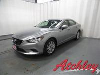 **ONE OWNER** and **CLEAN CARFAX**. Mazda6 i Sport,