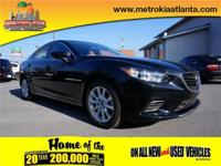 Get away in this 2015 Mazda MAZDA6 i Sport and