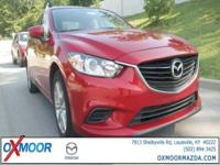2015 Mazda Mazda6 i 4-Wheel Disc Brakes, 6 Speakers,