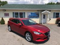 CARFAX One-Owner. soul red metallic 2015 Mazda Mazda6 i