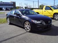 This 2015 Mazda Mazda6 i Touring in Jet Black features: