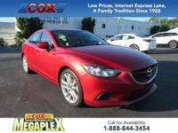 New Price! Certified. This 2015 Mazda6 i Touring in