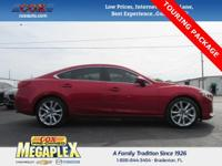 This 2015 Mazda Mazda6 i in Soul Red Metallic is well