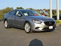 Options:  2015 Mazda Mazda6 I Touring|Silver/Black|V4