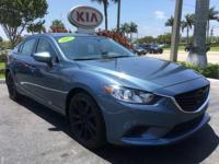 2015 Mazda Mazda6 i in Blue, *All Routine Maintenance