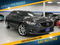 Options:  2015 Mazda Mazda6 I Touring|2.5L 4