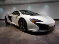 This 2015 McLaren 650S Spider is featured in Pearl