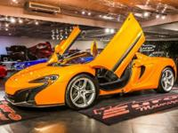 This is a McLaren 650S for sale by Euro Motorsport. The