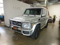 THIS 2015 MERCEDES BENZ G CLASS G63 AMG COMES WITH