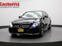 2015 4D Sedan Black 2015 Mercedes-Benz C-Class C 400