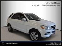 2015 Mercedes-Benz M-Class ML 350 Polar White 4MATIC?