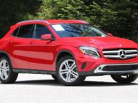 Jupiter Red 2015 Mercedes-Benz GLA 250 4MATIC 2.0L I4
