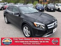 Night Black 2015 Mercedes-Benz GLA GLA 250 4MATIC