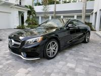 Mercedes S550 4Matic Coupe Sport Package dressed in