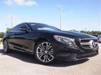 This All Wheel Drive S550 Coupe is in Excellent