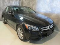 This Mercedes Benz C300 4-Matic was a lease turn in at