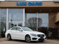 ONE OWNER SUPER LOADED 2015 MERCEDES-BENZ C300 SPORT
