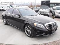 One Owner, Low Mile S550 Sport AWD, Eligible for