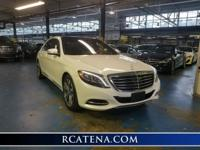2015 Mercedes Benz S550 in Diamond White with