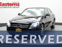 2015 4D Sedan Black 2015 Mercedes-Benz C-Class C 300