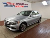 CARFAX One-Owner. Silver 2015 Mercedes-Benz C-Class C