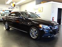 Solid and stately, this 2015 Mercedes-Benz C-Class is a