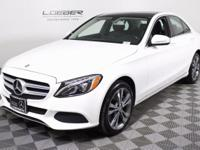 MB CERTIFIED WITH ONLY 36K ONE OWNER MILES! 2015 C300
