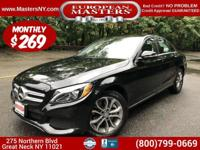This Lovely Black 2015 Mercedes-Benz C300 4Matic Sedan