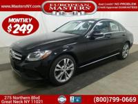 This Incredible Black 2015 Mercedes-Benz C300 4Matic