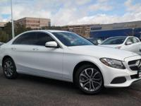 EPA 31 MPG Hwy/24 MPG City! LOW MILES - 28,397! C300