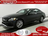 This Incredible Black 2015 Mercedes-Benz C300 Sport