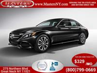 This Amazing Black 2015 Mercedes-Benz C300 Sport 4Matic