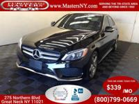 This Amazing Black 2015 Mercedes-Benz C300 4Matic Sedan