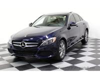CERTIFIED 2015 Mercedes-Benz C300 4Matic AWD Sedan with
