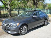 Options:  2015 Mercedes C300|Come And Visit Us At